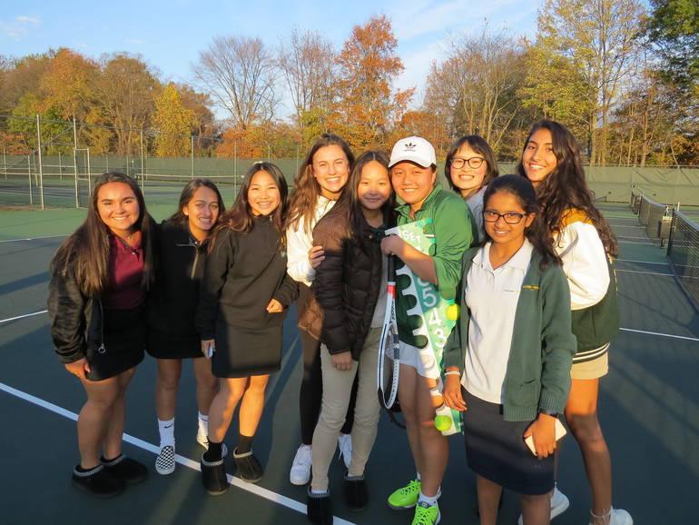 Girls' Tennis Team.JPG