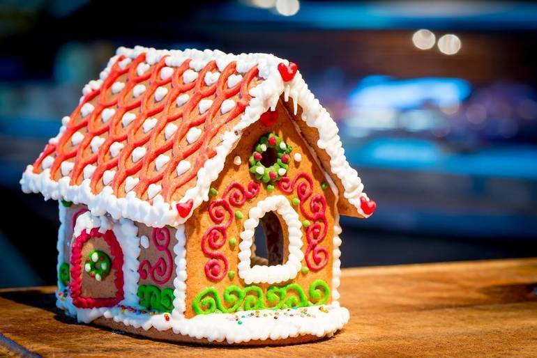28th Annual Gingerbread Wonderland Features Edible Masterpieces