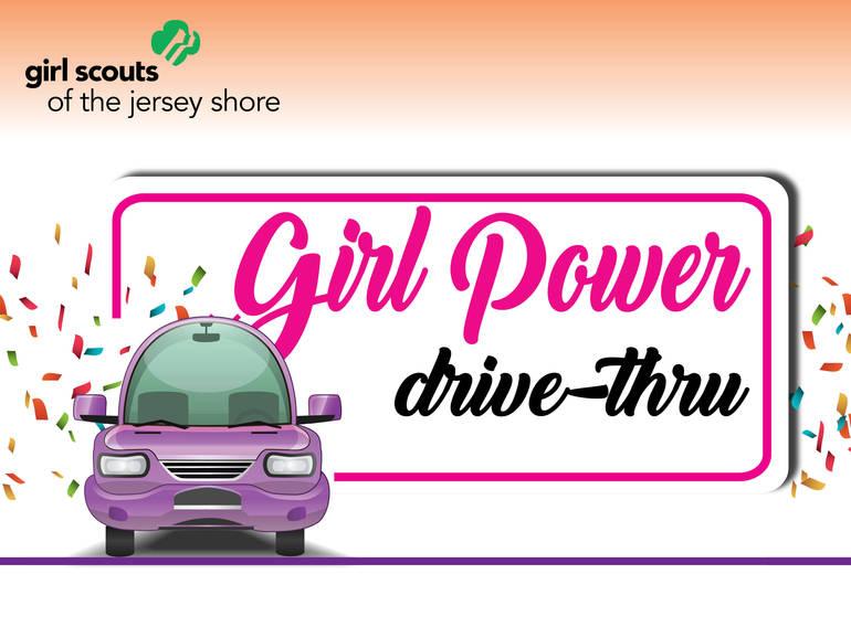 Girl Power Drive-Thru