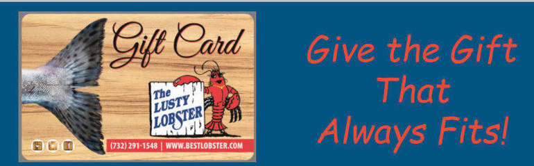 Lusty Lobster - Order Now for Easter