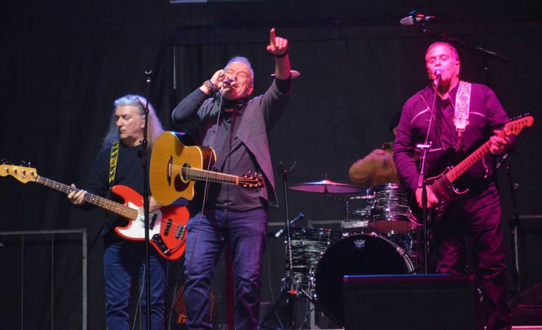 Glenn Stuart and B Street Bandmates played at Union County VoTech in Scotch Plains on Sunday