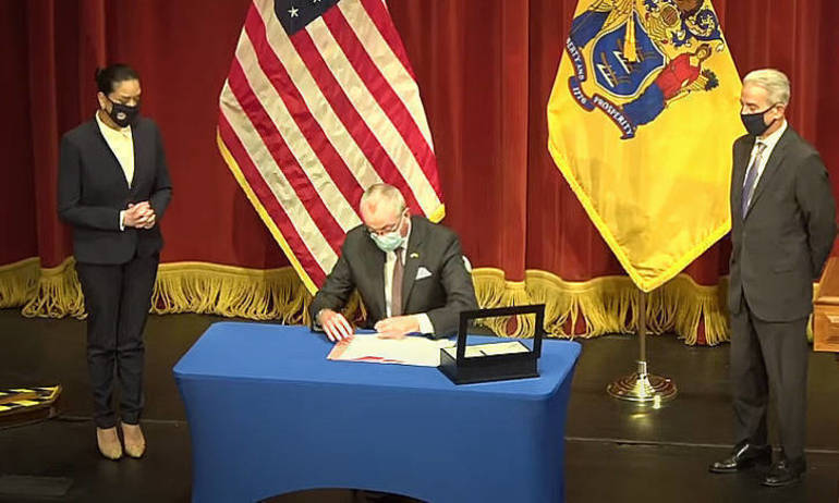 Gov. Murphy Signs Law Protecting Judges' Privacy
