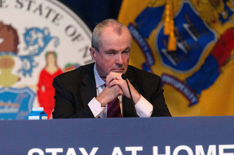 Gov. Phil Murphy at COVID press conference 5-14-20 by Rich Hundley III, The Trentonian.png