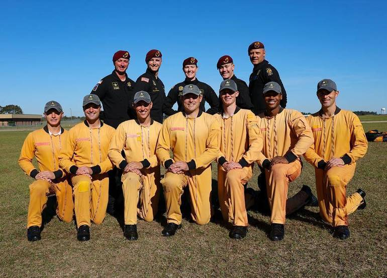 U.S. Army Golden Knights Skydiving Team