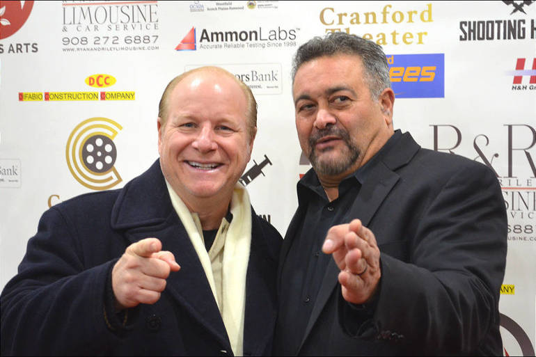 Scotch Plains entertainment royalty: comedian Mike Marino and actor Garry Pastore