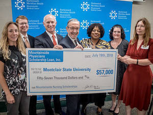 Mountainside Medical Center physicians' donate $57,000 to MSU School of Nursing