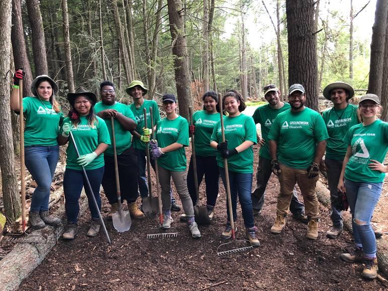 Green Team members at work repairing environment.JPG