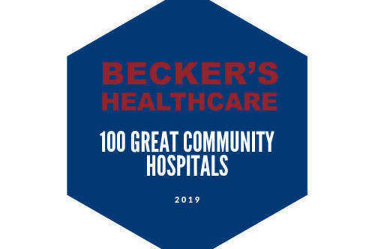 Overlook Medical Center Named One of '100 Great Community