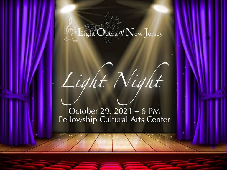 Soloists Announced for Light Opera of NJ's Light Night 2021 Gala Concert