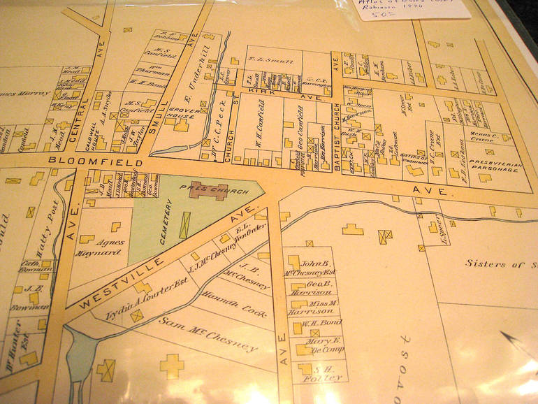 1880s Caldwell Map - Grover House Property