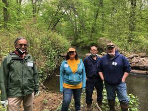 Whippany River Watershed Action Committee Meets With Trout Unlimited to Improve the Whippany River