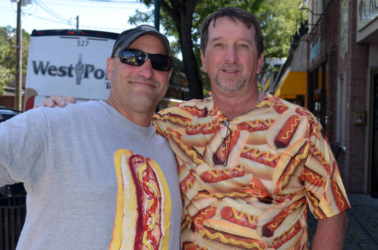 Guys in hot dog shirts.png