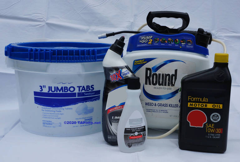 Hazardous waste items ©2020 TAPinto Montville.jpg