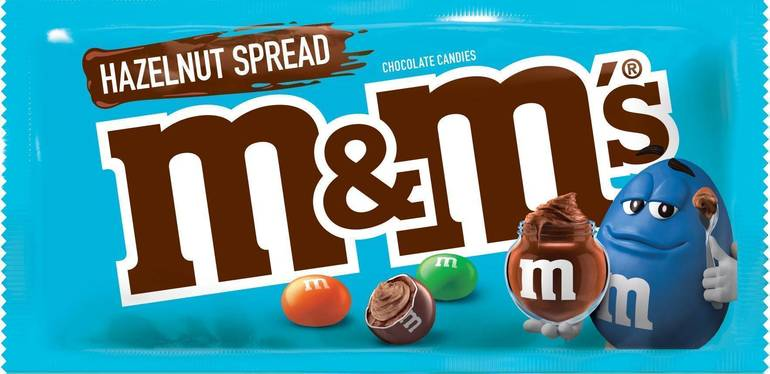 Hazlenut Spread M&M's (2019) PR Newswire.jpg