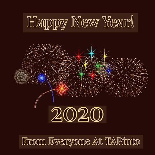 Happy New Year From TAPinto East Orange/Orange