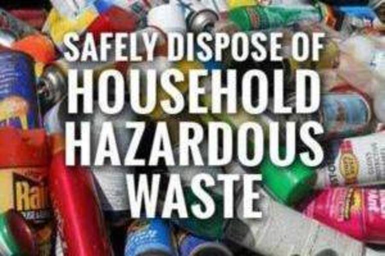 A Chance for Morristown Residents to Properly Remove Hazardous Products