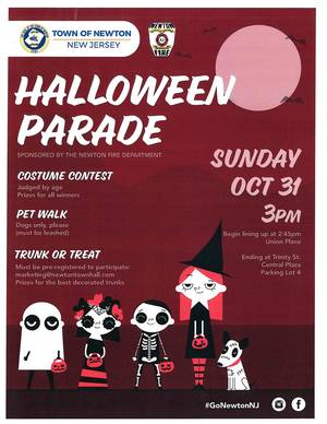 Newton Halloween Parade and Costume Contest