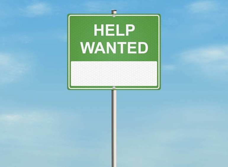 Help Wanted - Part Time Laborer
