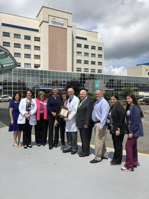 Trinitas Staff Celebrates First Public Health Innovator Award