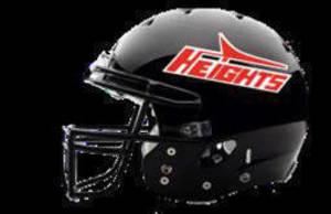 Hasbrouck Heights Junior Football helmet
