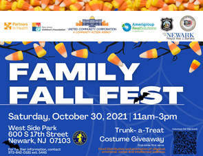United Community Corp. to give out FREE candy, costumes, food and more at West Side Park on Oct. 30 for Family Fall Fest