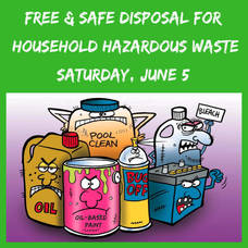 Free Household Hazardous Waste Recycling Event in Cranford This Saturday