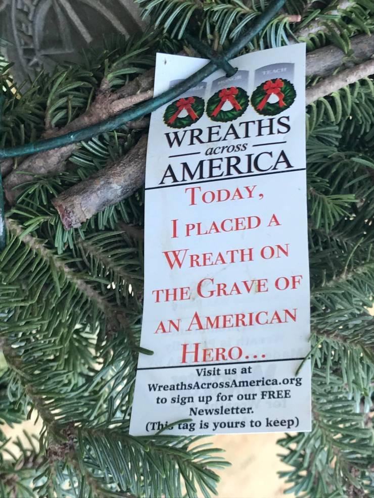 Hillsborough Cemeteries Honor Vets on National Wreaths Across America Day