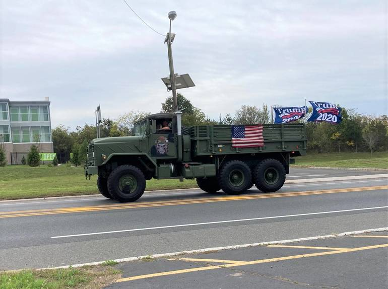 Trump Truck Parades: Expect Congestion in Bedminster, Along Route 206