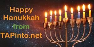 Happy Hanukkah from TAPinto Randolph