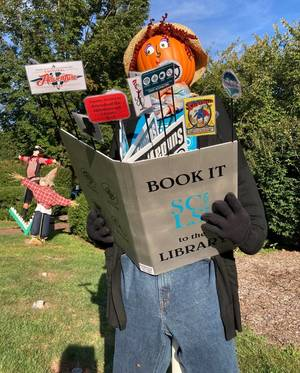 Halloween Gets Early Start in Hillsborough with Scarecrow Contest