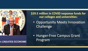 Gov. Murphy Announces $29.5 Million to Support College and University Students Amid COVID-19 Pandemic