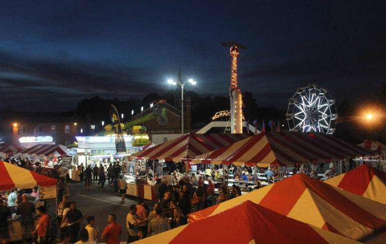 Holy Family Roman Catholic Church Italian Festival Kicks Off Tonight and Continues Nightly Through Sunday