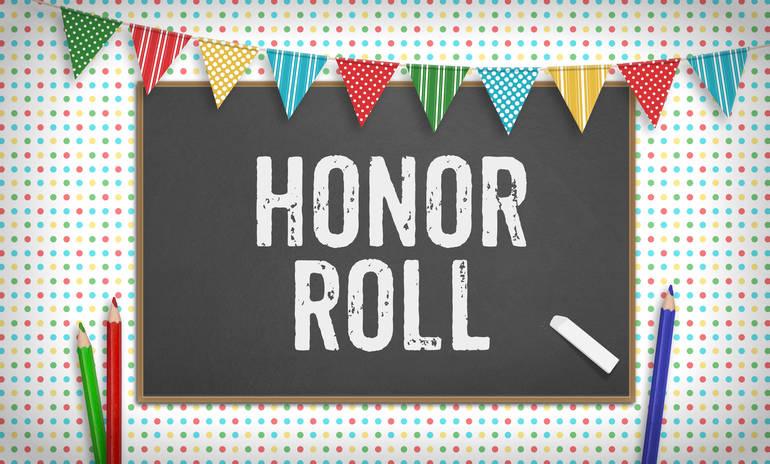 Roxbury High School Second Marking Period Honor Rolls