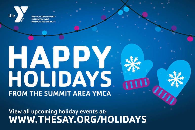 Holiday Events at The Summit Area YMCA
