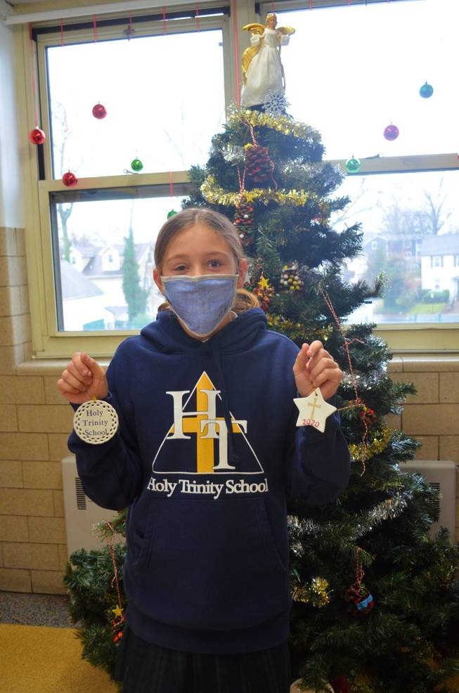Sierra Warjanka, a 7th grader at Holy Trinity, creates and sells crafts at her Etsy shop, https://www.etsy.com/shop/251hazelave.