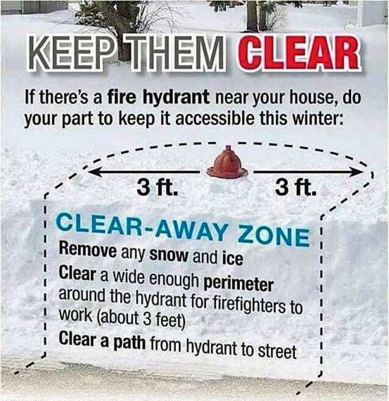 Livingston Residents Urged to Help Keep Hydrants Clear in Pending Storm