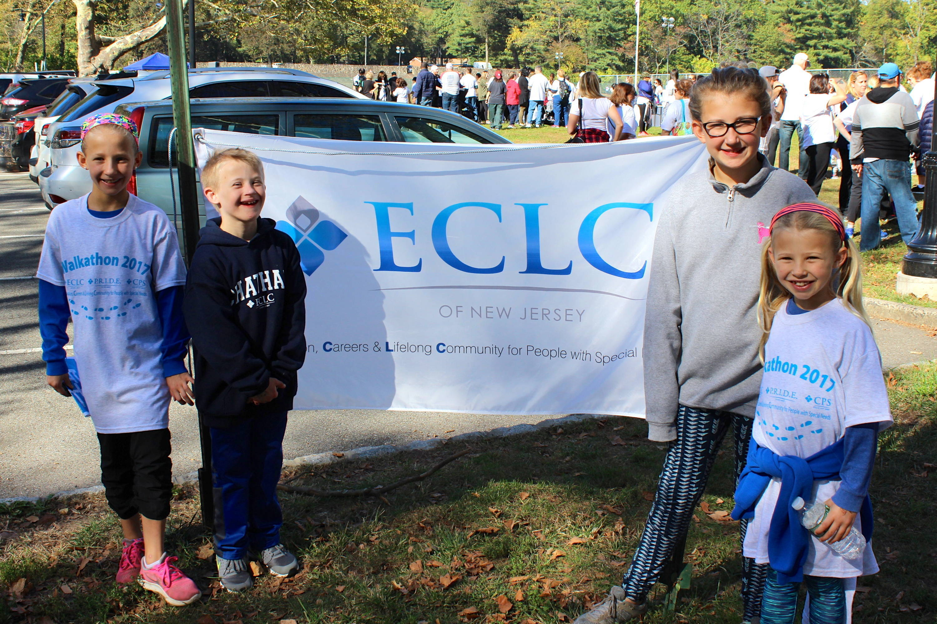 ECLC's students and their siblings are excited to walk!