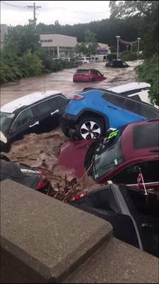 Flash Flooding Wallops Passaic Valley Area