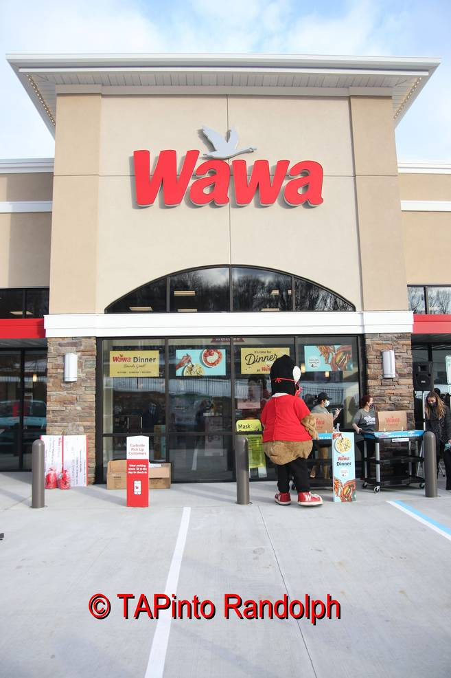 Wawa Officially Opens Randolph Store on Old Nagels Candy Barn Property