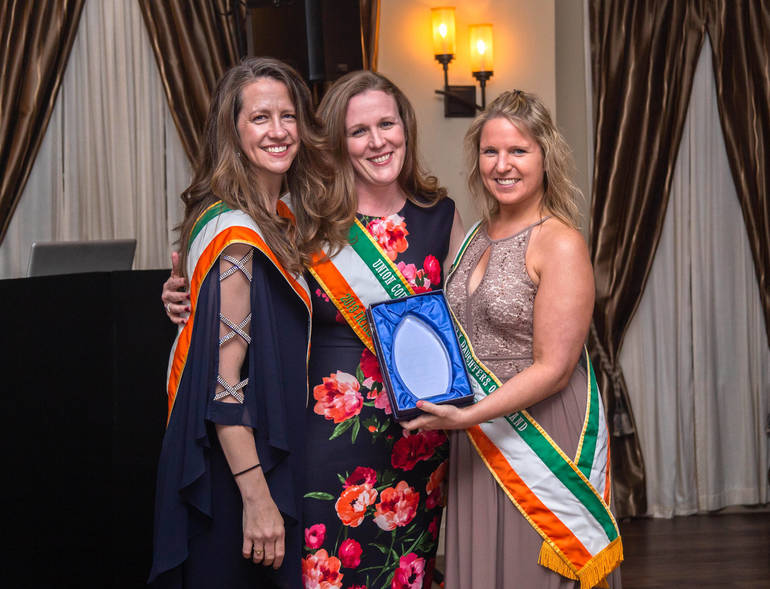 Irishwoman of the Year Kerry Ricci of Scotch Plains