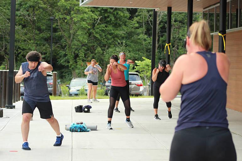 LesMills Body Combat Outdoor Group Exercise