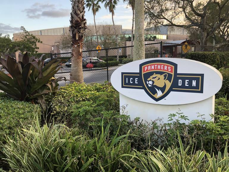 Florida Panthers IceDen in Coral Springs Is Reopening For Lessons, For Now
