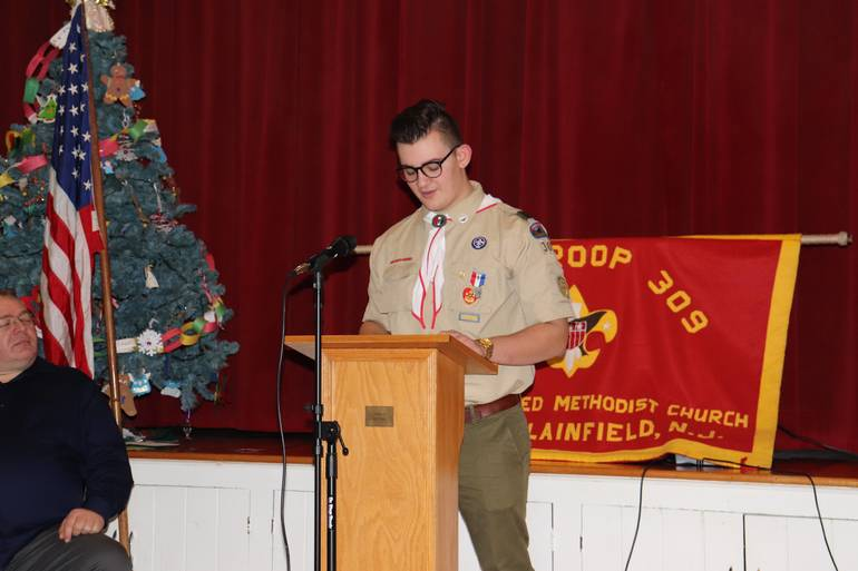 Wyatt Gerber Becomes 51st Eagle Scout of Boy Scout Troop 309