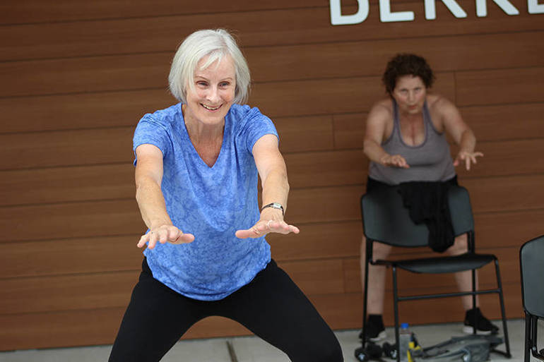 Stretch, Strength & Stability Adult Group Exercise