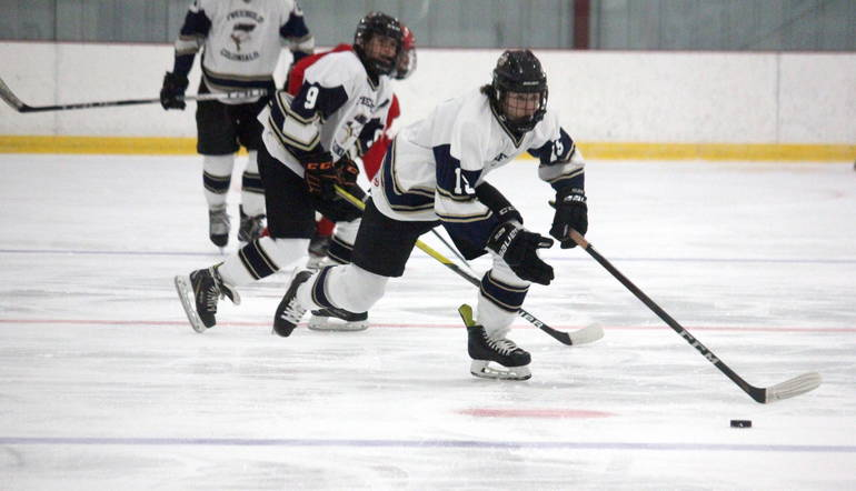 Colonials Cooperative Ice Hockey Program Notches Opening Night Win over Manalapan.