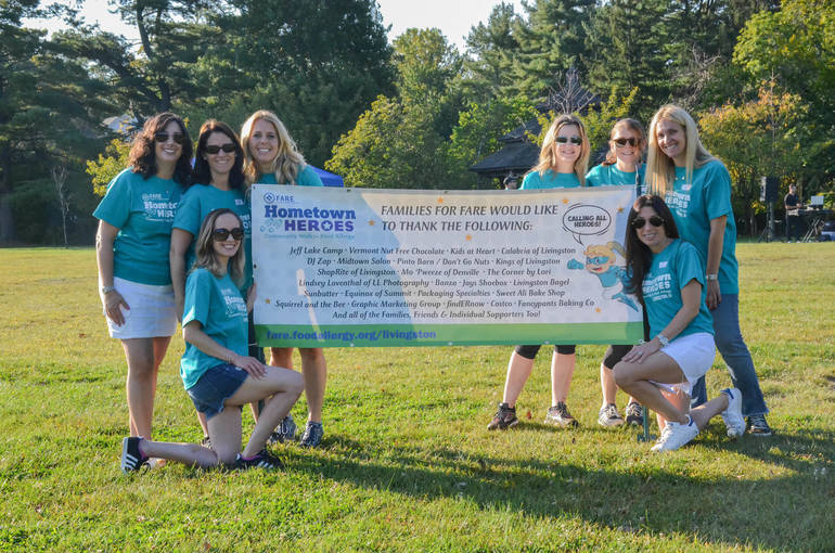 Local Families Organize Food Allergy Heroes Walk