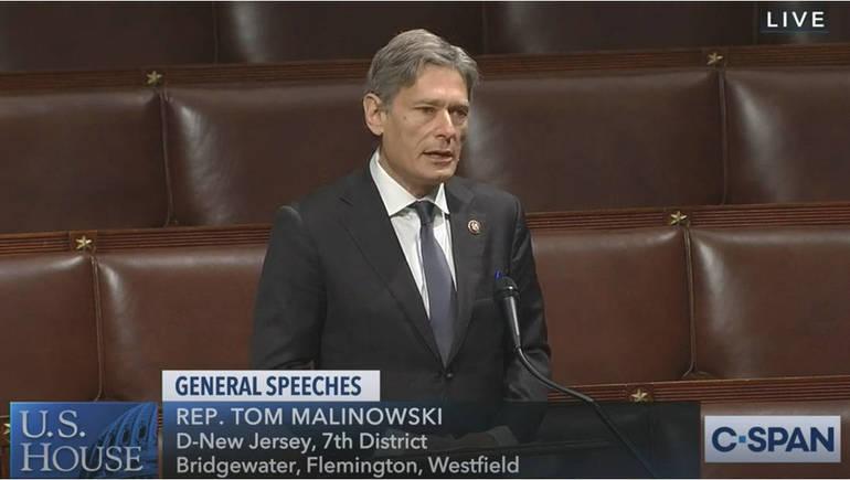 U.S. Rep Tom Malinowski (D, NJ-7)