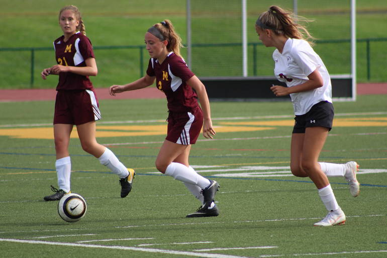 Madison Girls' Soccer Beats Morristown Beard in First Game of the Season