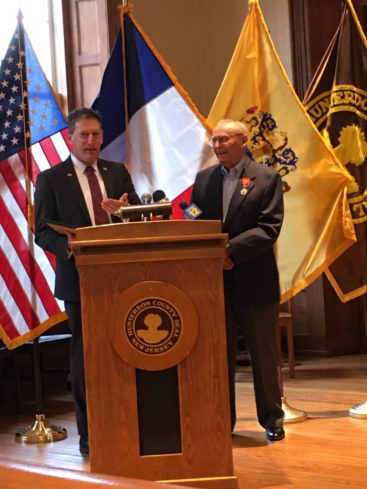 Paller and Assemblyman Andrew Zwicker