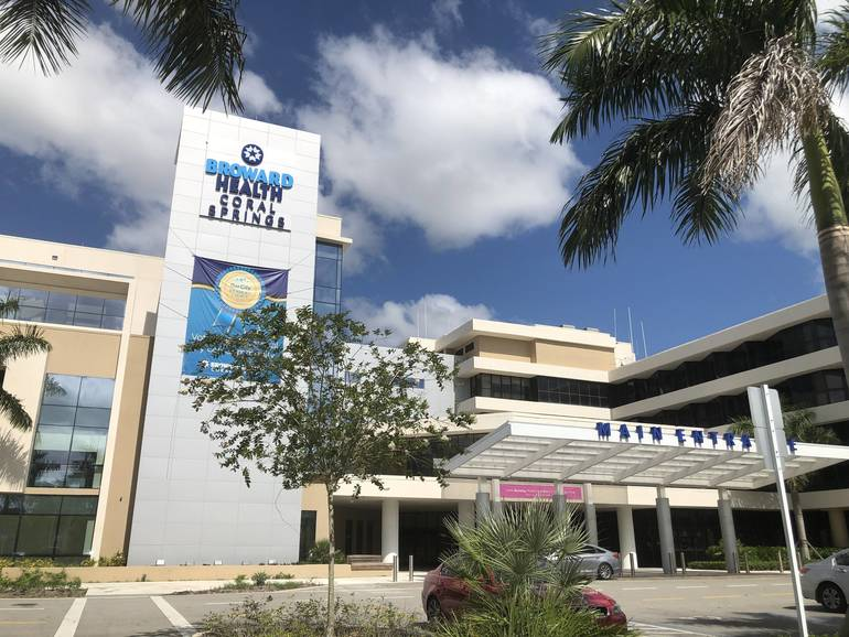 You Can't Visit Most Patients at Broward Health Coral Springs But You Can Send Digital Cards